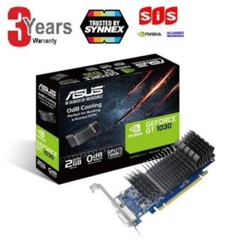 ASUS GeForce® GT 1030 2GB GDDR5 low profile graphics card for silent HTPC build (with I/O port brackets)GT1030-SL-2G-BRK -3 YEARS(BY SYNNEX,Scanner,SIS)