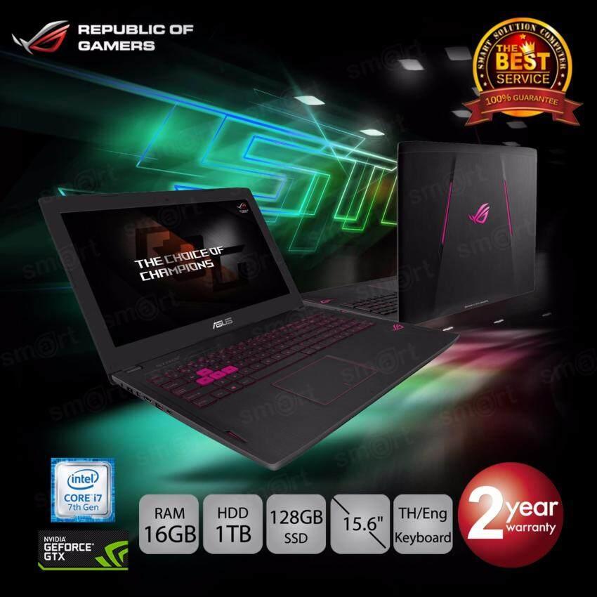 Asus ROG Strix G502VM-FY398 i7-7700HQ16GB1TB+128GB SSDGTX1060 6GB15.6 (Black)