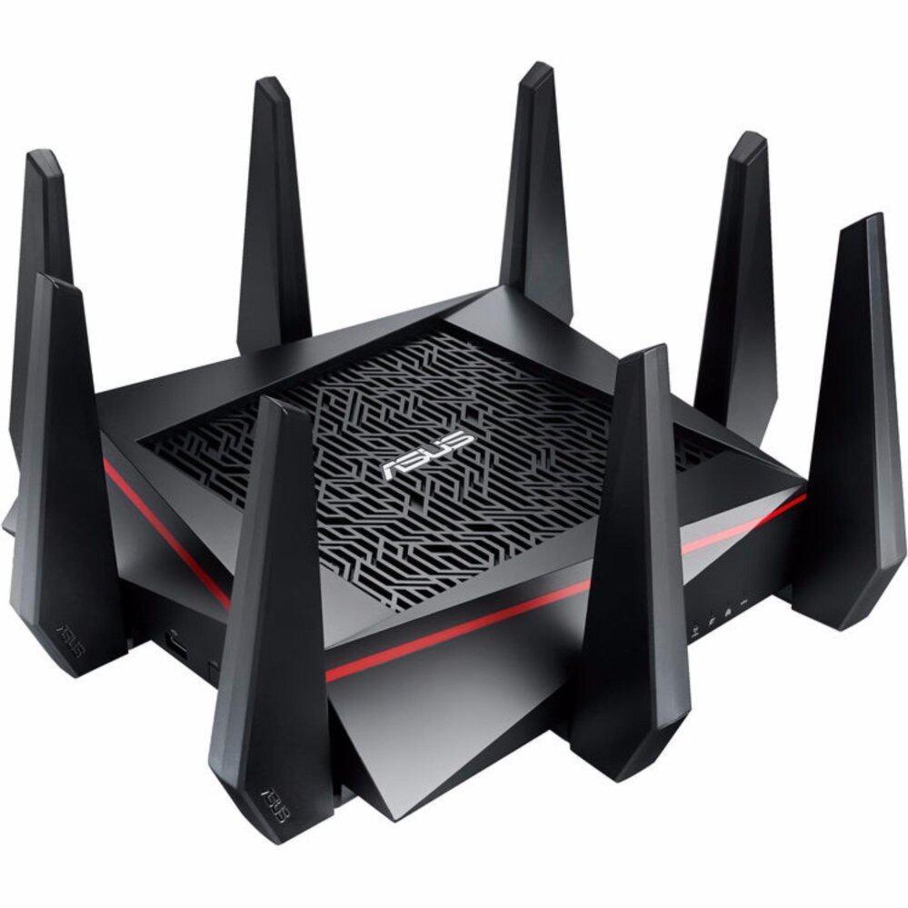 ลดสุดๆ ASUS RT-AC5300 Wireless Tri-Band Gigabit Router ประกัน 5ปี ขนส่งโดย KERRY EXPRESS