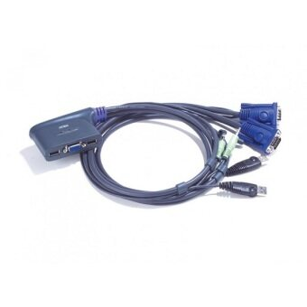 ATEN 2-port USB KVM