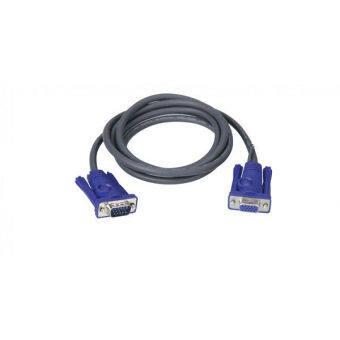 ATEN VGA Cable (M / F) รุ่น 2L-2401 1.8 m (ฺGray)