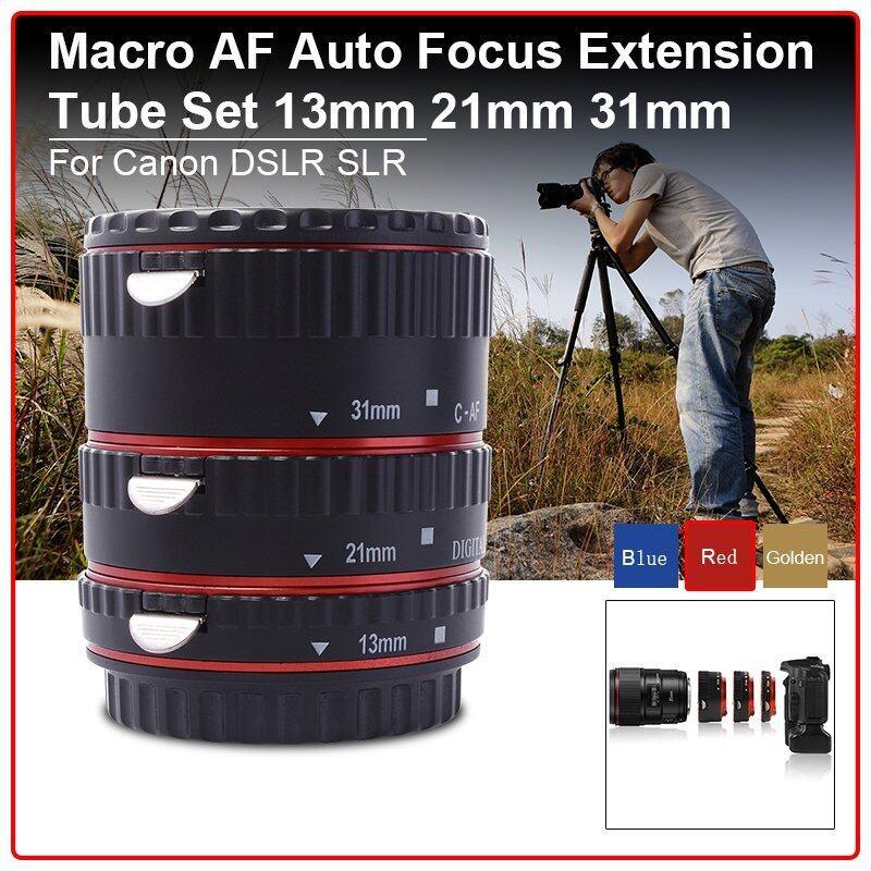 Auto focus Macro Extension Tube Ring Set for Canon EOS 70D 100D 600D 1100D
