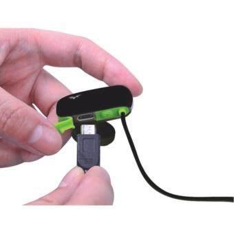 Avantree Bluetooth Sport Stereo Headset หูฟังบลูทูธ 4.0 พร้อมไมโครโฟน ตัดเสียงรบกวนรอบข้าง ปรับเสียง เปลี่ยนเพลงได้ เบสหนัก ป้องกันเหงื่อและละอองน้ำ เชื่อมต่อได้ 2 อุปกรณ์พร้อมกัน รุ่น Sacool (สีดำ/เขียว) / ฟรี เลนส์เสริม สำหรับสมาร์ทโฟน มูลค่า 149.- (image 2)