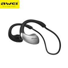 THB 522. Awei A885BL Wireless Earphones Bluetooth Headset Waterproof Sports HiFi ...