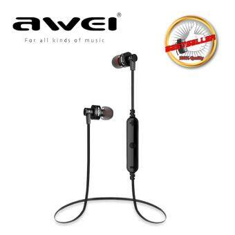 AWEI A990BL Wireless Sports Earphones For Calls And Music (Black) (image 0)