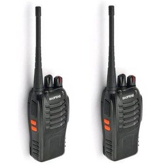 วิทยุสื่อสาร BAOFENG BF-888S UHF 16 Channel FM Walkie TalkieTwo-Way Radio (2ชิ้น)