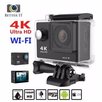 Better it กล้องกันน้ำ ถ่ายใต้น้ำ Sport camera Action camera 4KUltra HD waterproof WIFI