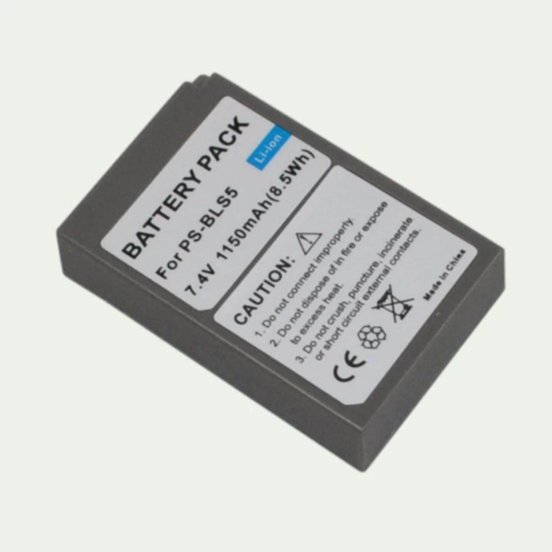 แบตเตอรี่กล้อง รุ่น BLS-5 / PS-BLS5 Replacement Battery for Olympus