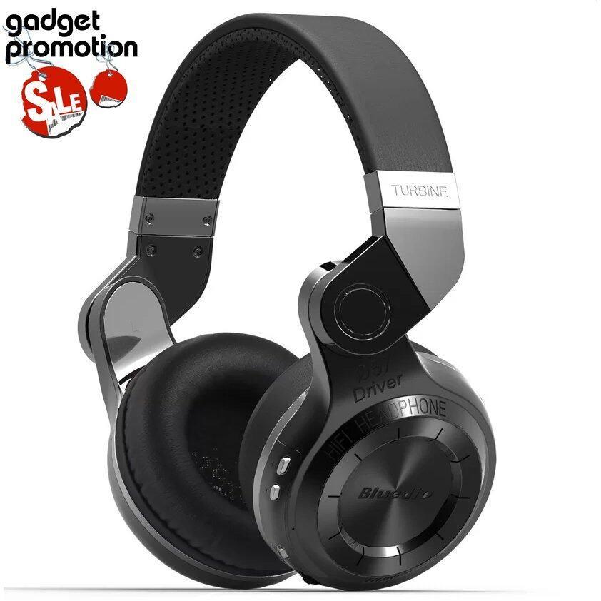 Bluedio หูฟังบลูธูท รุ่น T2 Turbine (black) ประกันศูนย์ไทย