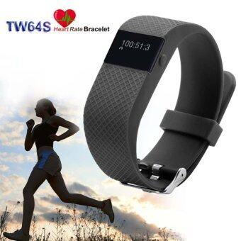 Bluetooth Fitness Activity Tracker Heart Rate + Sleep Monitor\nWristband Black - intl