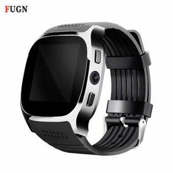 Bluetooth Smart Watch T8 With HD Camera Support TF SIM Card MP3 Player LBS Locator Sleep Fitness Tracker Passometer smartwatch - intl