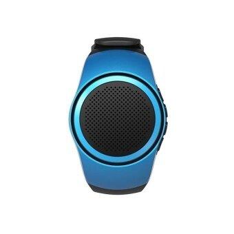 Bluetooth Sports Music Watch Portable Mini Watch\nBluetooth2.1+EDRSport Speaker TF Card FM Audio Radio Speakers\n(Blue) - intl