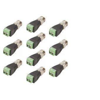 ซื้อ/ขาย หัว BNC Balun (หัวแจ็ค) สำหรับกล้องวงจรปิด 16 ตัว(Green) แถม 2 ตัว