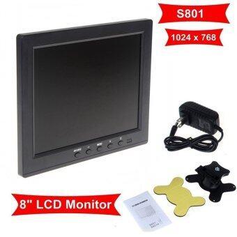 Boblov HD 8\ TFT LCD Screen Monitor VGA BNC Video Audio For PC