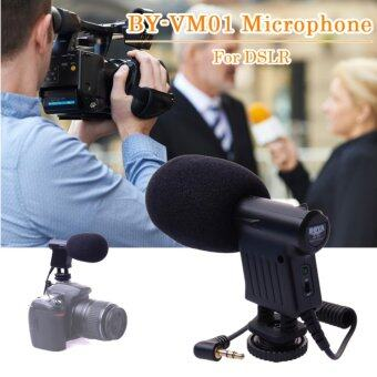 BOYA ไมโครโฟน BY-VM01 สำหรับ DSLR Camera Camcorder DV (...)