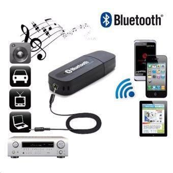 บลูทูธมิวสิค รุ่น BT-163 USB Bluetooth Audio Music Wireless Receiver Adapter 3.5mm Stereo Audio