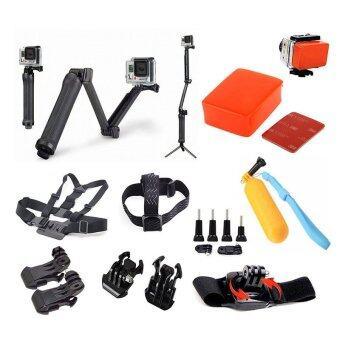 Buyanyway ��������������� ������������ ��������������������� 9 In 1 ��������������������������������������������� ��������������� GoproEquipments set for Gopro - Xiaomi Yi - SJ cam Action cam SuitAccessories