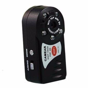 Cam4U กล้องจิ๋วHD WiFi Camera P2Pรุ่นQ7 - (สีดำ)