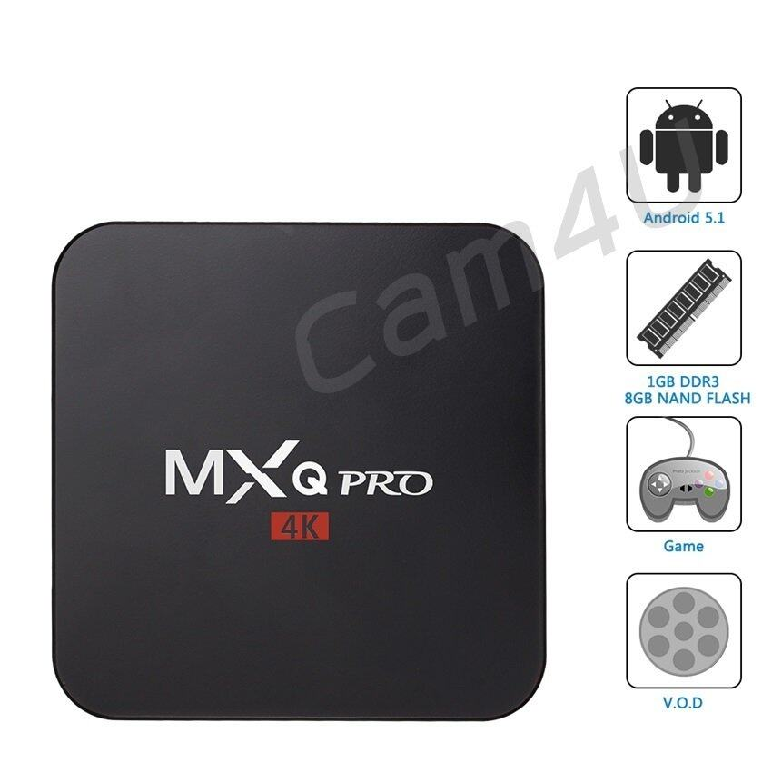 ชุมพร Cam4U MXQ Pro Smart Box Android 5.1 - Black