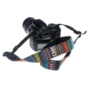 Camera Shoulder Neck Strap Belt For SLR DSLR BU - intl