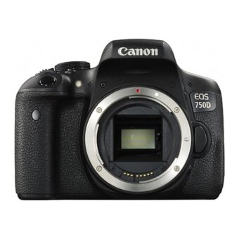 Canon EOS 750D DSLR Camera Body Only (Kit Box)