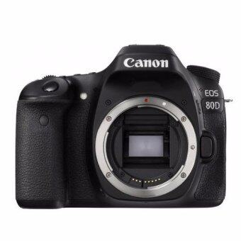 Canon EOS 80D (Body) +SDHC16GBC10+กระเป๋ากล้อง+ฟิล์มกันรอย