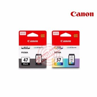 CANON INK PG-47 BLACK + CANON INK CL-57 COLOR