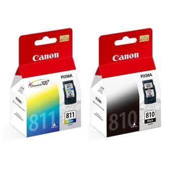 ซื้อ/ขาย canon หมึกพิมพ์ Inkjet รุ่น PG-810/CL-811 Black/Color