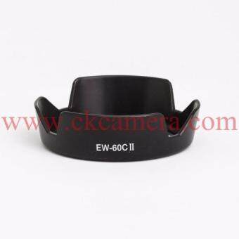 Canon Lens Hood EW-60C II for Canon 18-55mm f/3.5-5.6 IS II- Black