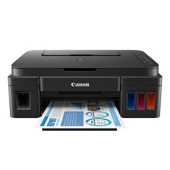 Canon Pixma Inkjet All In One Printer รุ่น G2000 (พร้อมหมึกแท้จากCANON สีละ1ขวด)