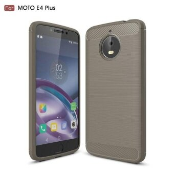 Carbon Rugged Armor Cover Case for Motorola Moto E4 Plus - intl