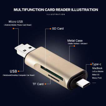Card Reader 3 in1