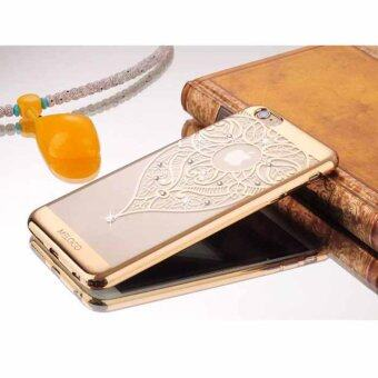 Case MELOCO05 case iphone6 Plus / iPhone 6S Plus Premium Crystal Case เคสมือถือ เคสไอโฟน (G01-GOLD)(Gold)