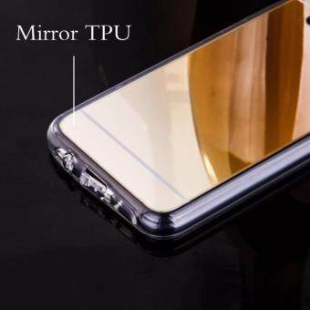 Case Samsung Galaxy J7 Primeเคสกระจกเงา ขอบยางLuxury Mirror SoftClear TPU Case/Cover Gold (สีทอง) (Gold) (image 2)
