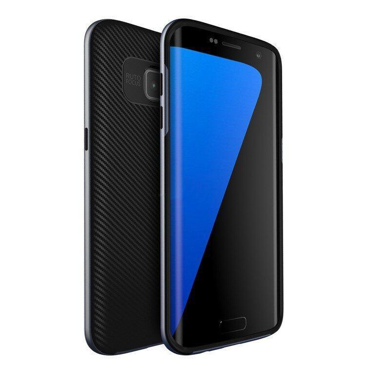 รายละเอียดของสินค้า Case UCASE TPU Antishock Protective original case ของแท้ สำหรับ. Samsung S7 Edge สีเทา