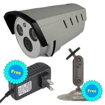 CCTV กล้องวงจรปิด กล้องทรงกระบอก Analog 1200 TVL HD พร้อมอินฟาเรด กล้องวงจรปิด HD ทนฝนและแดด คืนวิสัยทัศน์
