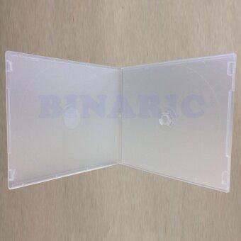 CD Box Case 1PP Slim กล่องใส่ CD 1 แผ่น แบบบาง สีขาว (pack 25)