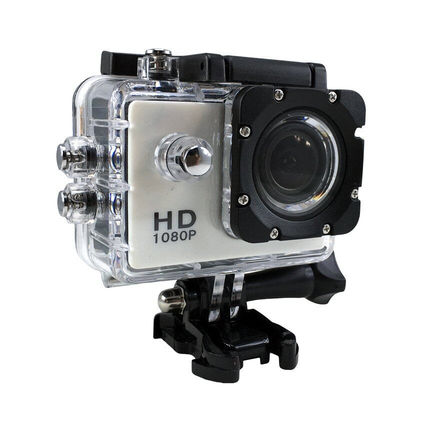 Ck Mobile Sport Action Camera 2.0 LCD Full HD 1080P No WiFi(สีขาว)