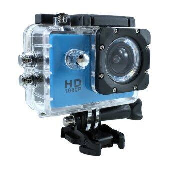 Ck Mobile Sport Action Camera 2.0 LCD Full HD 1080P No WiFi(สีฟ้า)