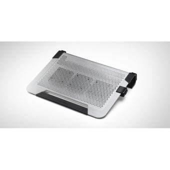 Cooler Master : NOTEPAL U3 PLUSMovable Fan Aluminum Cooling Pad - Silver