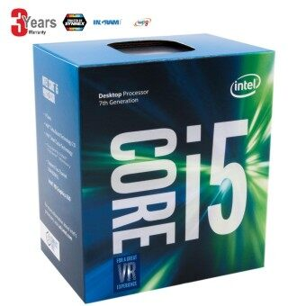 CPU (ซีพียู) Intel Core i5-7500 LGA 1151 3.4 GHz 7th Gen Core Desktop Processor (BX80677I57500)