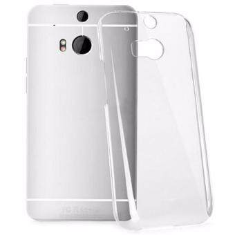 Crystal Transparent Soft Silicone TPU Back Cover For HTC One M8 -intl