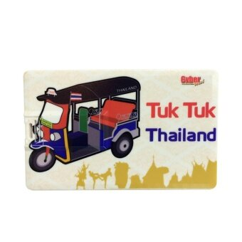 Cyber Brand Flash Drive 8GB Memory USB.2.0 Card Thailand Souvenir Tuk Tuk