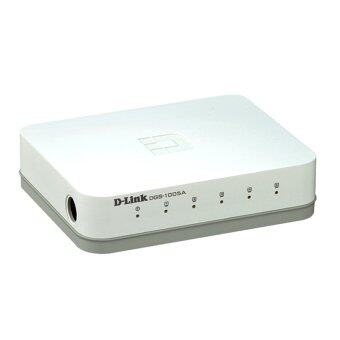 Harga D-Link DGS-1005A 5-Port Gigabit Desktop Switch In Plastic Casing