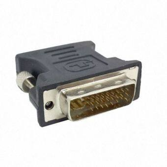 Harga D-Link DVI-I Male 24+5 Pin to VGA Female Video Converter Adapter M/F LCD HDTV