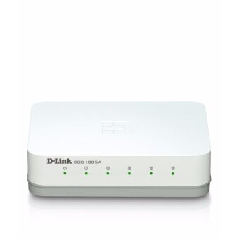 ประเทศไทย D-Link Fast Ethernet Switch 5 Port 10/1000 Mbps DGS-1005A