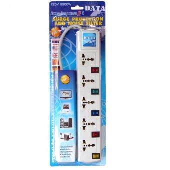 เปรียบเทียบราคา DATA by Mastersat รางปลั๊กไฟ 5 ช่อง มีปุ่มเปิด ปิด 5 ช่องกันไฟกระชาก มี ม.อ.ก. ยาว 3 หลา (2.7 เมตร) รุ่น WL59