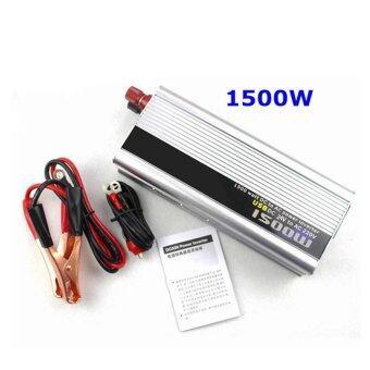 DC 24V to AC 220V Car Vehicle USB Power Inverter Adapter Converter 1500W 50Hz - intl