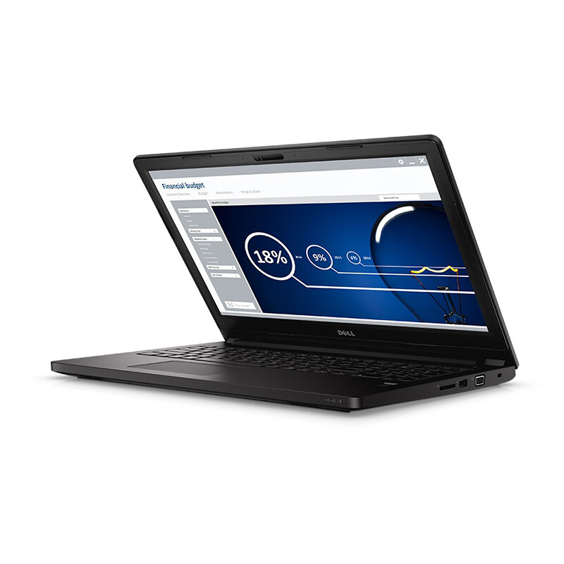 Dell Notebook Latitude3470 14' i5-6200U 4G 1TB VGA2G W10P (Black)