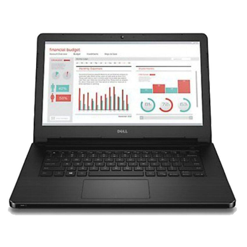 Dell Vostro 3458,Ci3-4005U,4GB,500GB,W8.1P 14 นิ้ว (Black)